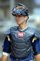 Georgia Tech C Cole Leonida prior to a game vs. Boston College at Shea Field on May 22, 2010 in Chestnut Hill, MA (Photo by Ken Babbitt/Four Seam Images)