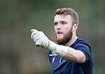 St Johnstone Training…18.10.19<br />Zander Clark pictured during training this morning at McDiarmid Park ahead of tomorrow's game at St Mirren<br />Picture by Graeme Hart.<br />Copyright Perthshire Picture Agency<br />Tel: 01738 623350  Mobile: 07990 594431