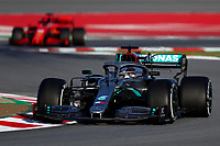 #44 Lewis Hamilton Mercedes AMG Team F1. Formula 1 World championship 2020, Winter testing days #1 2020 Barcelona, 19-21 February 2020.<br /> Photo Federico Basile / Insidefoto