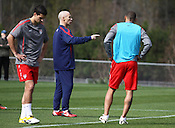 The US Men's National Team held practices March 21-23 at WakeMed Soccer Park in Cary, North Carolina. The team will host a friendly against Argentina's national team March 26 in East Rutherford, New Jersey. <br /> <br /> Photo by Peggy Boone<br /> pboonephotos@gmail.com