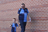 Wycombe Wanderers fans seen arriving during the Sky Bet League 1 match between Sunderland and Wycombe Wanderers at the Stadium Of Light, Sunderland, England on 28 August 2021. Photo by Will Matthews / PRiME Media Images.