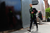 Yan Dhanda of Swansea City arrives for the during the pre season friendly match between Exeter City and Swansea City at St James Park in Exeter, England, UK. Saturday, 20 July 2019