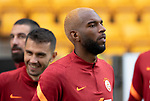 Galatasaray's Ryan Babel on the pitch at McDiarmid Park ahead of tonight's training session before facing St Johnstone in tomorrow nights Europa League qualifier second leg....11.08.21<br /><br />Picture by Graeme Hart.<br />Copyright Perthshire Picture Agency<br />Tel: 01738 623350  Mobile: 07990 594431