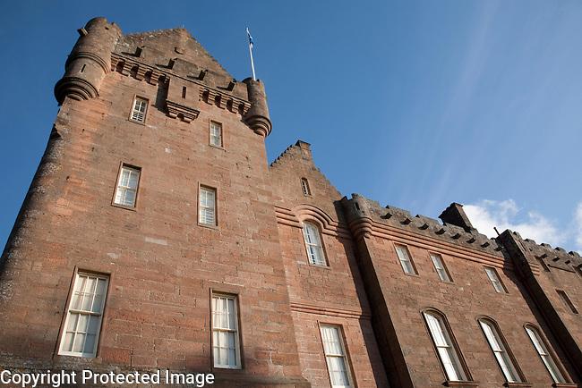 Broddick Castle of the Isle of Arran, Scotland