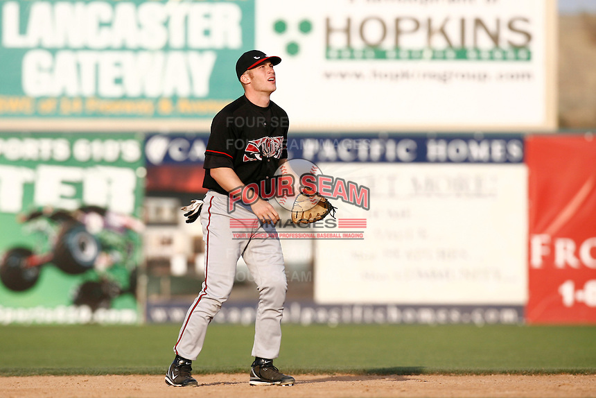 Mark Antonelli of the Lake Elsinore Storm during a California League baseball game on May 19, 2007 at The Hanger in Lancaster, California. (Larry Goren/Four Seam Images)