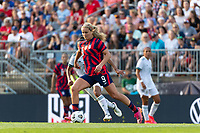 EAST HARTFORD, CT - JULY 5: Lindsey Horan #9 of the United States during a game between Mexico and USWNT at Rentschler Field on July 5, 2021 in East Hartford, Connecticut.
