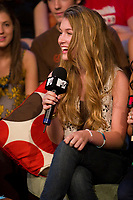 """Toronto (ON) CANADA , July 25, 2007 - <br /> <br /> MTV Live"""" has the stars of the new Bratz movie, Nathalia Ramos, Janel Parrish, Logan Browning and Skyler Shaye, in-studio to discuss the phenomenon<br /> photos : by Cody Bokshowan - Images Distribution"""