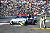 Monster Energy NASCAR Cup Series<br /> AAA Texas 500<br /> Texas Motor Speedway<br /> Fort Worth, TX USA<br /> Sunday 5 November 2017<br /> Erik Jones, Furniture Row Racing, Sport Clips Toyota Camry, Monster Energy Nascar Cup Official.<br /> World Copyright: John K Harrelson<br /> LAT Images