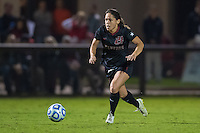 STANFORD, CA - November 21, 2014: Lo'eau LaBonta during the Stanford vs Arkansas women's second round NCAA soccer match in Stanford, California.  The Cardinal defeated the Razorbacks 1-0.