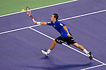 SHANGHAI, CHINA - OCTOBER 12:  Philipp Kohlschreiber of Germany returns a ball to Andy Roddick of USA during day two of the 2010 Shanghai Rolex Masters at the Shanghai Qi Zhong Tennis Center on October 12, 2010 in Shanghai, China.  (Photo by Victor Fraile/The Power of Sport Images) *** Local Caption *** Philipp Kohlschreiber