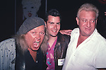 Sam Kinison, Charlie Sheen , Rodney Dangerfield at The Comedy Store