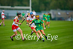 Action from Kerry v Derry in the Intermediate Camogie championship
