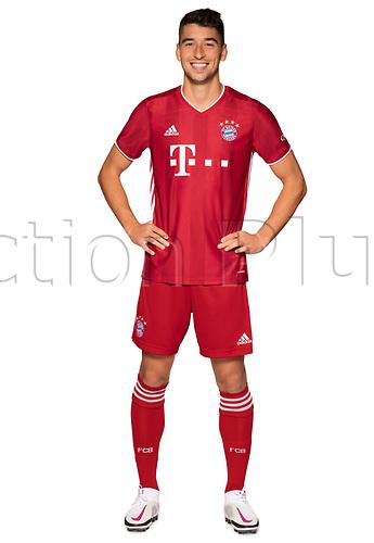 26th October 2020, Munich, Germany; Bayern Munich official seasons portraits for season 2020-21;  Marc Roca enchen