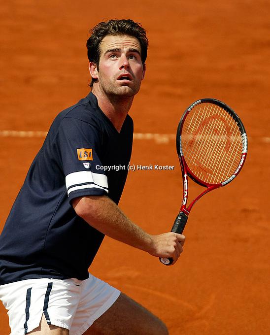 11-07-2004, Scheveningen, Tennis, ITS Siemens Open, Raemon Sluiter in actie