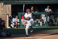 STANFORD, CA - MAY 27: Kody Huff during a game between Oregon State University and Stanford Baseball at Sunken Diamond on May 27, 2021 in Stanford, California.