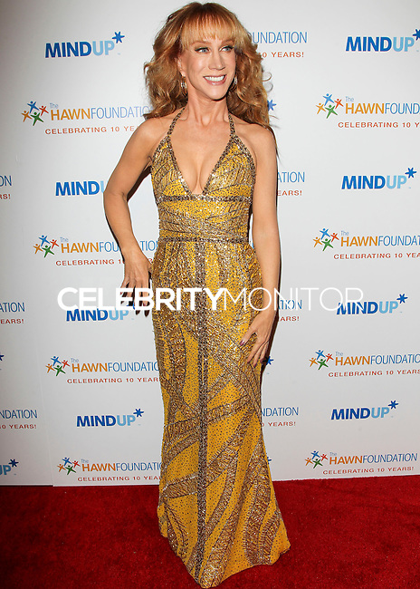 BEVERLY HILLS, CA, USA - NOVEMBER 21: Kathy Griffin arrives at Goldie Hawn's Inaugural 'Love In For Kids' Benefiting The Hawn Foundation's MindUp Program held at Ron Burkle's Green Acres Estate on November 21, 2014 in Beverly Hills, California, United States. (Photo by Celebrity Monitor)