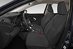 Front seat view of 2020 Toyota Yaris Dynamic 5 Door Hatchback Front Seat  car photos