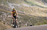 Robert Gesink (NED/Jumbo-Visma) up the finish climb & the highest peak of the 2020 #TdF: the Col de la Loze (HC/2304m/21,5km @7,8%)<br /> <br /> Stage 17 from Grenoble to Méribel - Col de la Loze (170km)<br /> <br /> 107th Tour de France 2020 (2.UWT)<br /> (the 'postponed edition' held in september)<br /> <br /> ©kramon