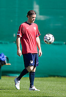 John O'Brien before training in Hamburg, Germany, for the 2006 World Cup, June, 8, 2006.