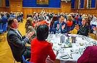 Den Bosch, The Netherlands, Februari 07 2019,  Maaspoort , FedCup  Netherlands - Canada, official dinner<br /> Photo: Tennisimages/Henk Koster
