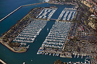 aerial photograph of of Dana Point Harbor, Orange County, California