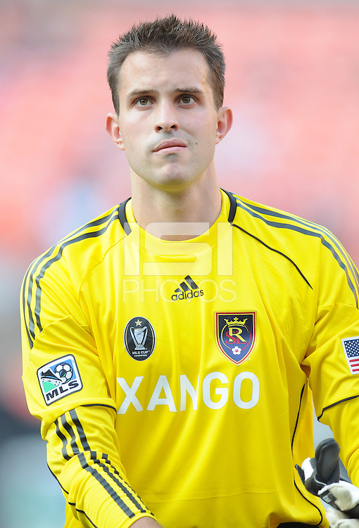 Real Salt Lake goalkeeper Kyle Reynish (24)    DC United defeated Real Salt Lake 2-1 to advance to the round of 16 of the  U.S. Open Cup at RFK Stadium, Wednesday  June 2  2010.