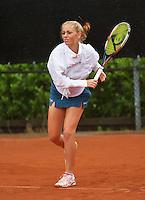 07-08-13, Netherlands, Rotterdam,  TV Victoria, Tennis, NJK 2013, National Junior Tennis Championships 2013, Britt Schreuder<br /> <br /> <br /> Photo: Henk Koster
