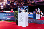 Stand of official sponsor Massimo Dutti prior to the horse jumping Hong Kong Masters 2014 on February 20, 2014 at Asia World Expo in Hong Kong, China. Photo by Xaume Olleros / Power Sport Images
