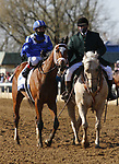 Malathaat #5 ridden by Joel Rosario wins the Ashland Stakes (Grade 1) on Blue Grass Stakes Day at Keeneland Race Course in Lexington, Kentucky on April 03, 2021. Candice Chavez/Eclipse Sportswire/CSM