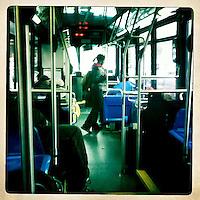 NEW YORK - USA: Recorrido por el metro de New York. Una vista mas de la capital del mundo. Tour in the New York subway. Another view of capital world. Photo: Vizzorimage