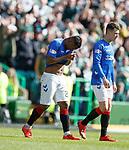 31.03.2019 Celtic v Rangers: Alfredo Morelos red carded