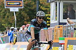 Davide Formolo (ITA) Bora-Hansgrohe crosses the finish line at the end of the 99th edition of Milan-Turin 2018, running 200km from Magenta Milan to Superga Basilica Turin, Italy. 10th October 2018.<br /> Picture: Eoin Clarke | Cyclefile<br /> <br /> <br /> All photos usage must carry mandatory copyright credit (© Cyclefile | Eoin Clarke)