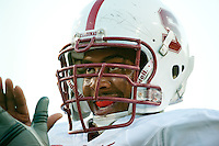 TEMPE, AZ - November 13, 2010: Jonathan Martin during a football game at Arizona State University in Tempe, Arizona. Stanford won 17-13.