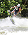 September 13, 2014:  Scenes from the WWA Wakeboard World Championships at Mills Pond Park in Fort Lauderdale, FL.  Men's  Professional Wakeboarder JD Webb PLK.  Liz Lamont/ESW/CSM