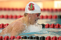 7 November 2007: Egan Gans during Stanford's win over California in the Big Meet at the Avery Aquatic Center in Stanford, CA.
