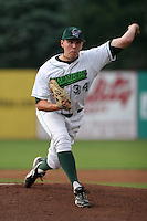 Jamestown Jammers Graham Taylor during a NY-Penn League game at Russell Diethrick Park on July 9, 2006 in Jamestown, New York.  (Mike Janes/Four Seam Images)