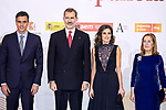 Pedro Sanchez, Queen Letizia Ortiz of Spain, King Felipe VI of Spain and Ana Pastor attends to Spanish Constitution 40th Anniversary Concert at National Auditorium of Music in Madrid, Spain. December 05, 2018. (ALTERPHOTOS/A. Perez Meca)