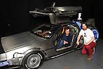 Michael J Fox & DeLorean