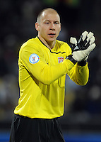 Brad Guzan of USA. USA defeated Egypt 3-0 during the FIFA Confederations Cup at Royal Bafokeng Stadium in Rustenberg, South Africa on June 21, 2009.