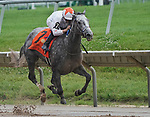 JULY 03, 2021: Crazy Beautiful, #7, ridden by jockey Mike Smith wins the Delaware Park Oaks (Grade 3) on July 03, 2021 at Delaware park in Willington, Delaware. Scott Serio/Eclipse Sportswire/CSM