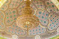 Senegal, Touba.  Mausoleum of Mourtada Mbacke, adjacent to the Grand Mosque of Touba.