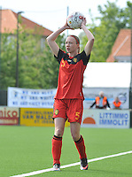 Belgium A - North Korea friendly game at Koksijde KVV Stadium - Belgie - Noord Korea : .Inge Heiremans.foto David Catry / Joke Vuylsteke / Vrouwenteam.be