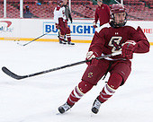 Chris Calnan (BC - 11) - The Boston College Eagles practiced on the rink at Fenway Park on Friday, January 6, 2017.