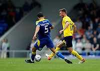 4th September 2021; Merton, London, England;  EFL Championship football, AFC Wimbledon versus Oxford City: James Henry of Oxford United passing the ball into midfield