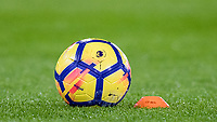 The Premier League Winter match ball during the Premier League match between Crystal Palace and Manchester United at Selhurst Park, London, England on 5 March 2018. Photo by Andy Rowland.