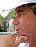 26-6-08, England, Wimbledon, Tennis, Michiel Schapers coach van Erakovic