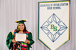 Dominguez Cundafe, Rocio  received their diploma at Bryan Station High school on  Thursday June 4, 2020  in Lexington, Ky. Photo by Mark Mahan Mahan Multimedia