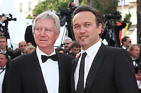 REGIS WARGNIER AND VINCENT PEREZ - RED CARPET OF THE FILM 'LOVING' AT THE 69TH FESTIVAL OF CANNES 2016