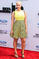 LOS ANGELES, CA - JUNE 30: Amber Rose attends the 2013 BET Awards at Nokia Theatre L.A. Live on June 30, 2013 in Los Angeles, California. (Photo by Celebrity Monitor)