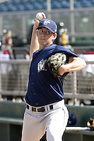 Fort Wayne Wizards Jarrett Gardner during a Midwest League game at Oldsmobile Park on July 13, 2006 in Fort Wayne, Indiana.  (Mike Janes/Four Seam Images)